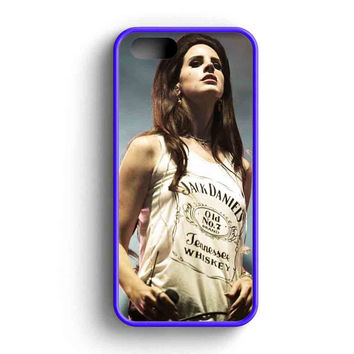 Lana Del Rey Jack Daniels  iPhone 5 Case iPhone 5s Case iPhone 5c Case