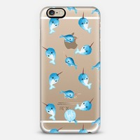 Nutty Narwhals Transparent Case by Wonder Forest iPhone 6 case by wonder forest | Casetify
