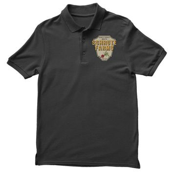 World Famous Beets Schrute Farms Polo Shirt
