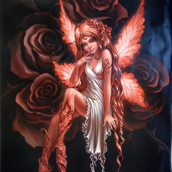 Rose Fairy Poster