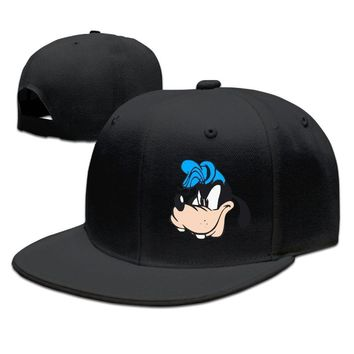 Goofy Genius Cartoon Face Whoopee Party Breathable Unisex Adult Womens Hip-hop Caps Mens Flat Brim Hats