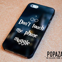 Don't Touch My Phone Muggle Harry Potter iPhone 5 | 5S Case Cover