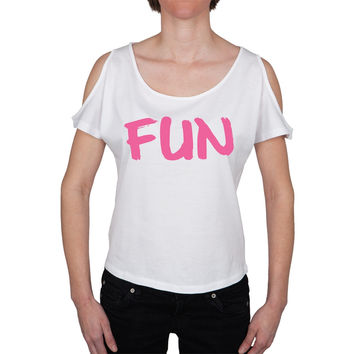 Fun Open Shoulder Juniors Top