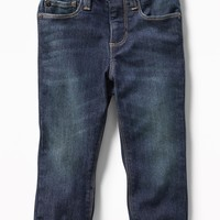 Cozy-Lined Relaxed Jeans for Toddler Boys|old-navy