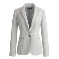 J.Crew Womens Petite Campbell Blazer In Super 120S Wool
