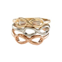 Infinity Ring 3-Pack
