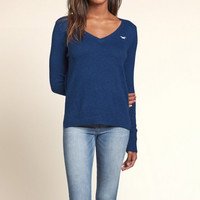 Iconic V Neck Sweater