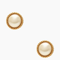 seaport pearl studs - kate spade new york