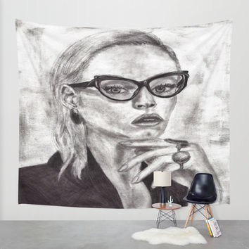 Daria Wall Tapestry by Yuval Ozery