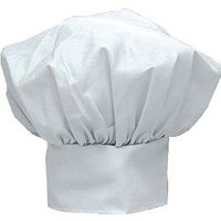 Adcraft HAT-15 White Deluxe Chef Hat