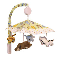 Trend Lab Baby Bedding Chibi Zoo Musical Mobile Play Toy