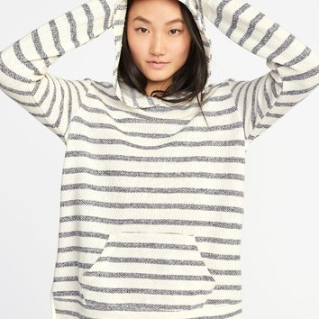 Relaxed French-Terry Pullover Hoodie for Women | Old Navy