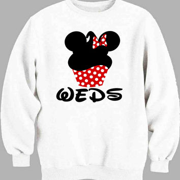 Mickey minnie newlyweds women Sweater for Mens Sweater and Womens Sweater ***