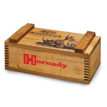 Wooden 405 Win Ammo Box