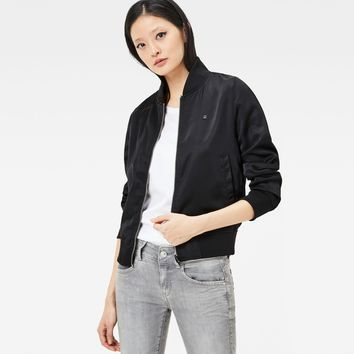 Ansem Slim Bomber Jacket | black | Women | G-Star RAW®