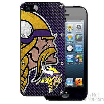 Minnesota Vikings iPhone 5 Slim Hard Snap-On Case NFL Football