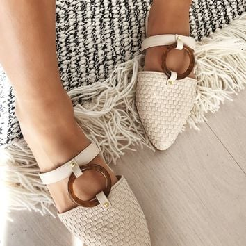 Woven Ring Loafers - Flats by Sabo Skirt