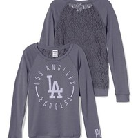Los Angeles Dodgers Lace-back Boyfriend Crew