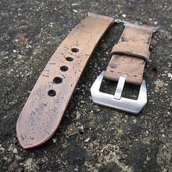 Apple Watch Strap, Strap For Apple 42mm, Leather Apple Strap, Vintage Brown