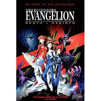 Neon Genesis Evangelion: Death & Rebirth 11x17 Movie Poster (1997)