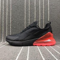 Nike Air Max 270 Black Red Sport Running Shoes Ah8050-006 - Beauty Ticks
