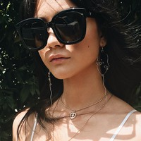 Black Colossal Sunglasses