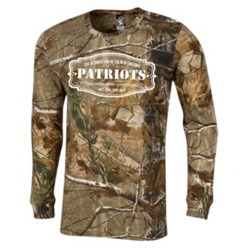The Ultimate Fan Of The New England Patriots Long Sleeve Camo T-Shirt