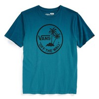 Boy's Vans 'Dipped Palm Island' Graphic Cotton T-Shirt,