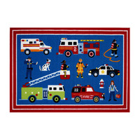 "Fun Rugs Olive Kids Heroes Home Decorative Accent Area Rug 19""""X29"""""