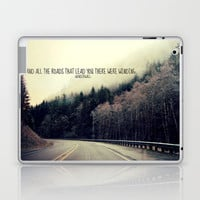 WINDING ROADS ON HWY 101  Laptop & iPad Skin by Tara Yarte  | Society6