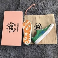 Converse one star X Golf le fleur TTC Green Sneaker Shoes 35-44