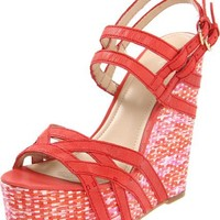 Nine West Women's Bardough Wedge Sandal