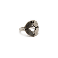 Cutout Compass Ring