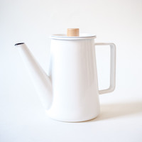 Kaico Enamelware Coffee Kettle