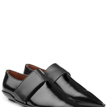 Pointed Leather Flats - Marni | WOMEN | US STYLEBOP.COM