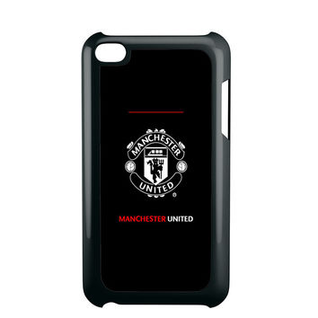 manchester united black iPod Touch 4 iPod Touch 5 iPod Touch 6 Case