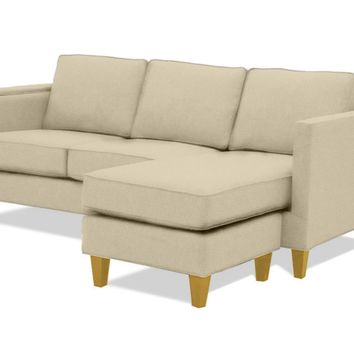 Anderson Reversible Chaise Sofa :: Leg Finish: Natural