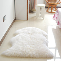 Faux Sheepskin Mat