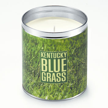 Personalized Panoramic Grass Candle