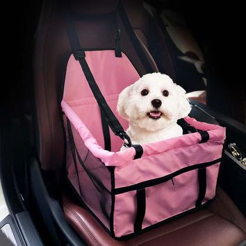 Hot Sale New Folding Washable Hammock Car Mat Seat Cover Bag Crate Storage Pocket For Dog Cat Pet Rear Single Seat Pads