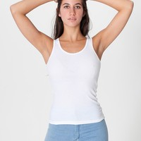 2X1 Rib Basic Tank | American Apparel