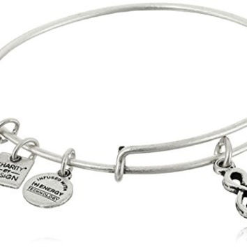 Alex and Ani Charity By Design Sweet Melody Rafaelian Silver Bangle Bracelet