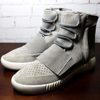 Adidas Men Kanye West Yeezy Boost 750 Sneakersmen Ankle Boots Black Grey Brown Kanye - Ready Stock