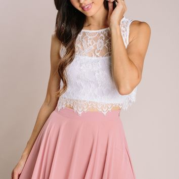 Celeste Sleeveless Lace Top