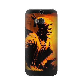P1105 Shivaji Maharaj Rajesh Khilari Case For HTC ONE M8
