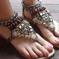 Handmade designers sandals from lovelyshoes