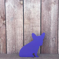 Custom Wooden Dog - Hand cut - Any Breed - Frenchie - French Bulldog