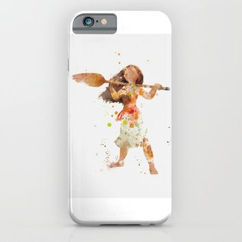 Moana iPhone & iPod Case by artsaren