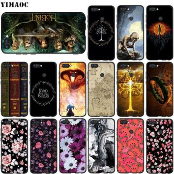 YIMAOC The Lord of Rings Hobbit Silicone Case for Huawei Honor 6a 7a 7c 7x 8 9 10 Lite Pro Y6 Prime 2018 2017