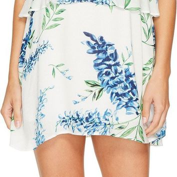 Show Me Your Mumu Women's Arianna Mini Dress Wisteria Wonder Challis Dress
